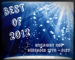 Best of 2012 Giveaway Hop (US ends 12/31)