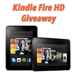 July Kindle Fire HD Giveaway (ends 7/29)