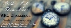 Better Late Than Never ARC Challenge Oct Check-In
