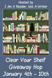 Clear Your Shelf Giveaway Hop (US – Ends Jan 10)