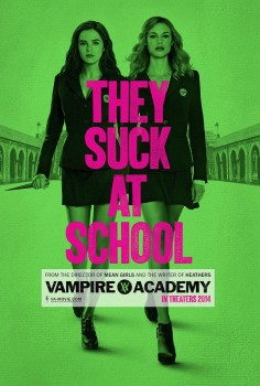 Not Really a Movie Review: Vampire Academy