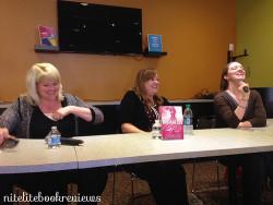 Brodi Ashton, Cynthia Hand & Jodi Meadows at MGRB Recap