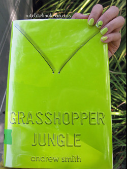 Manicure Monday (66): Grasshopper Jungle