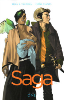 Review: Saga Vol. 1 by Brian K. Vaughan and Fiona Staples