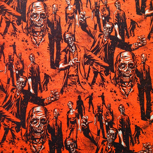 Zombie fabric. Yes please.