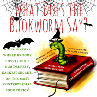 What Does the Bookworm Say?: Scary Books