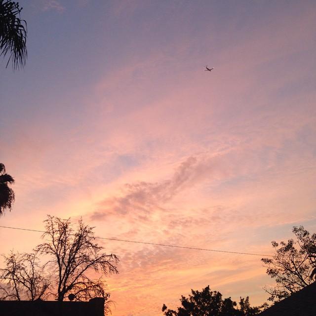 Good morning. #sunrise #lookingup