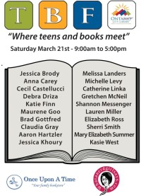 Ontario Teen Book Fest Blog Tour – Spotlight on Cecil Castellucci