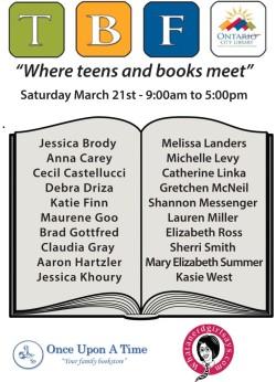 Ontario Teen Book Fest Blog Tour – Spotlight on Cecil Castellucci