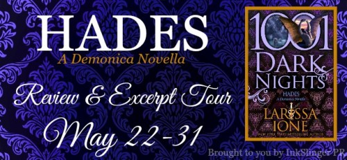 HADES Review & Excerpt Tour banner