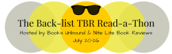 The Back-list TBR Read-a-Thon