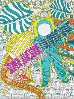 Review: Super Awesome Coloring Book by Mark Cesarik