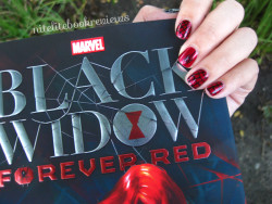 Manicure Monday (101): Black Widow: Forever Red