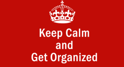 How to Get and Stay Organized in 2016