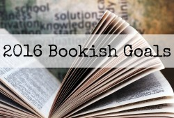 2016 Bookish Goals